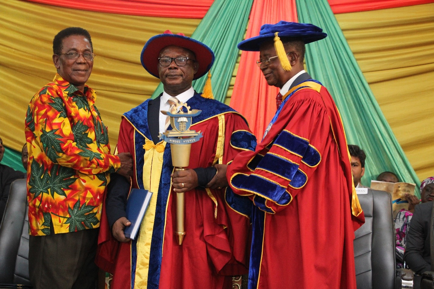 New Vice-Chancellor Inducted Into Office At Kumasi Technical University (KsTU)